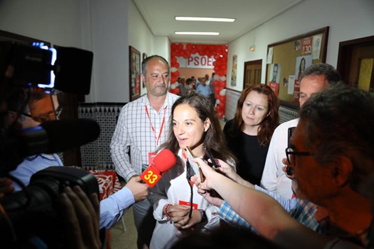 La-alcaldesa-de-Getafe-Sara-Hernandez-analizara-los-resultados-electorales-y-los-posibles-pactos-en-Espacio-Monsul
